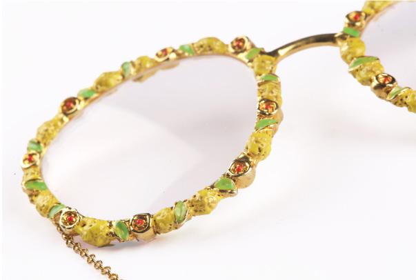 Progetto jewel glasses