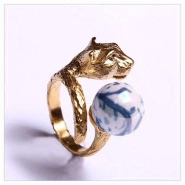 Anello animalier gioielli Giuliana di Franco