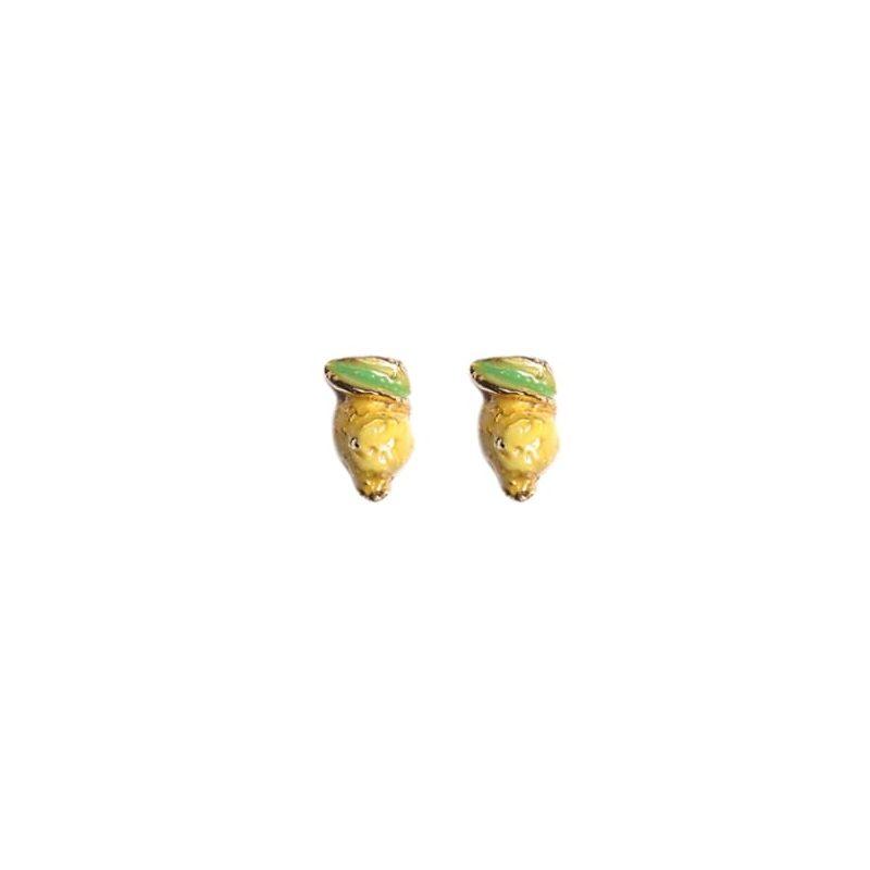 Orecchini argento dorato agrodolce J-E128