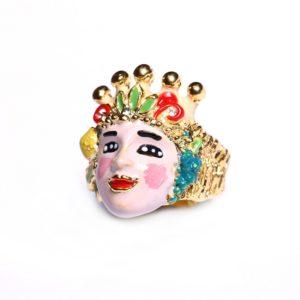collezione icone amori di sicilia anello