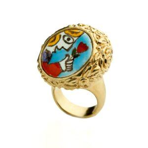 collezione icone sicilianissima anello