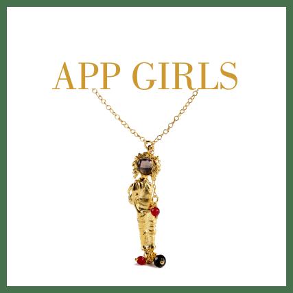 Collezione app girls gioielli Giuliana Di Franco