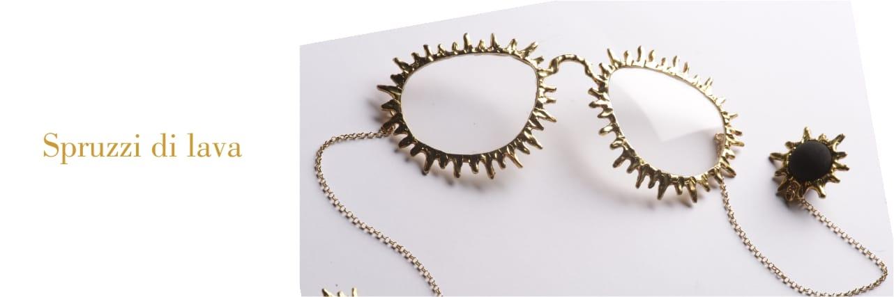 Jewel Glasses spruzzi di lava