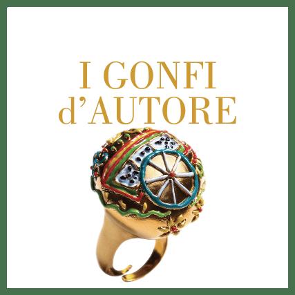 Collezione gioielli gonfi d'autore Giuliana Di Franco