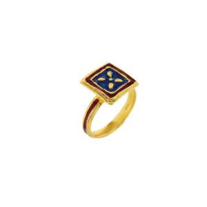 Anello Maduni Pinti J-A101 blu