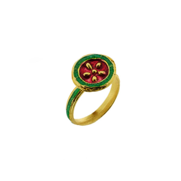 Anello Maduni Pinti J-A100 rosso